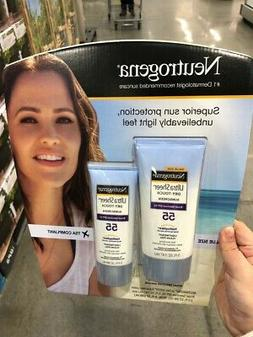 Neutrogena Ultra Sheer Sunscreen Lotion SPF 55 Broad Spectru