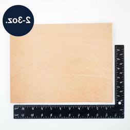 """Natural Veg Tan Tooling Cowhide Leather Pre-Cut Piece 12""""x12"""