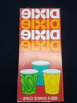 Vintage 70s Dixie Cups 5oz Refill for Ba