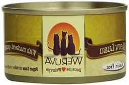 Weruva Meow Luau Mackerel & Pumpkin Canned Cat Food, 3 oz