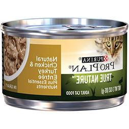 Purina Pro Plan Wet Cat Food, Tue Nature, Natural Turkey & C