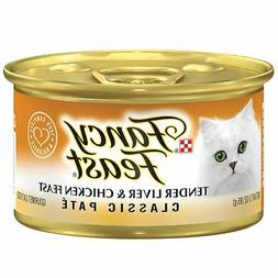 Fancy Feast Wet Cat Food, Classic, Tender Liver & Chicken Fe