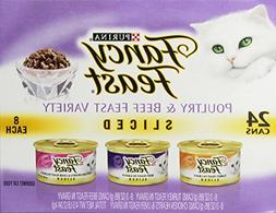 Purina Fancy Feast Sliced Poultry & Beef Collection Gourmet