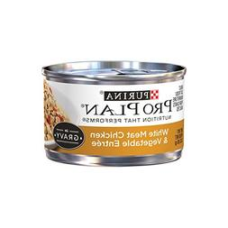 Purina Pro Plan White Meat Chicken & Vegetable Entree in Gra
