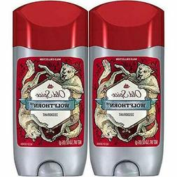 Old Spice Wild Collection Deodorant, Wolfthorn Scent, 3 Ounc