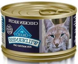 Blue Buffalo Wilderness Grain Free Mature Canned Cat Food