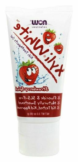 NOW Foods - XyliWhite Kids Toothpaste Gel Strawberry Splash
